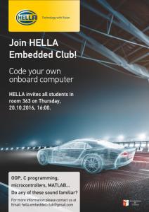 Hella Embedded Club 2016