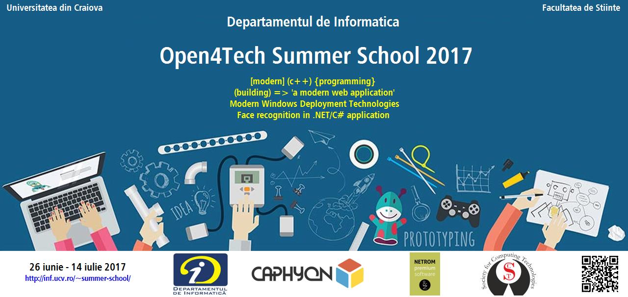Open4Tech - Summer School 2017