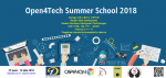 Open4Tech – Summer School 2018