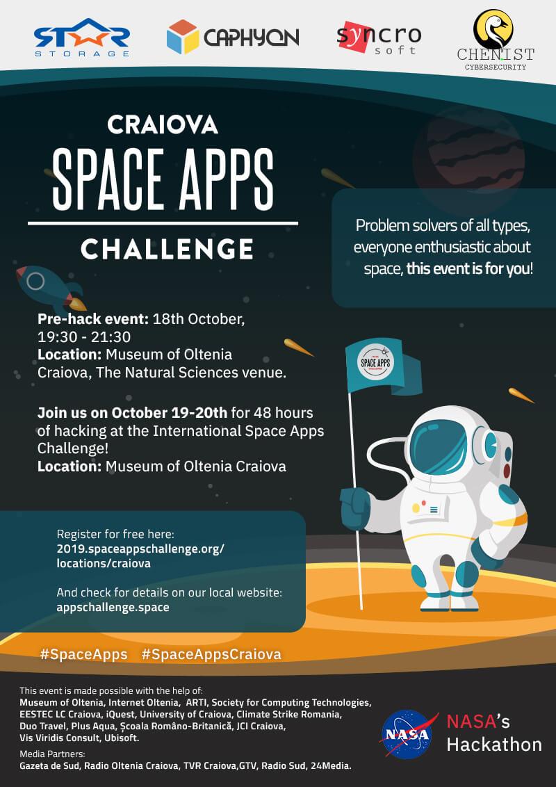 NASA SpaceAppsChallenge Hackathon Craiova 2019